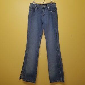 VINTAGE Rockies Side Slit Grunge Jeans Size 28/ 7